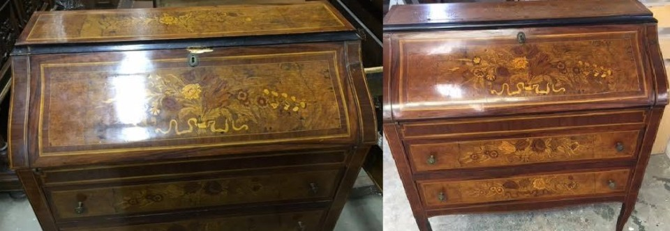 Furniture Restoration Furniture Refinishing. wood furniture repair chest before after 960x332 jpg