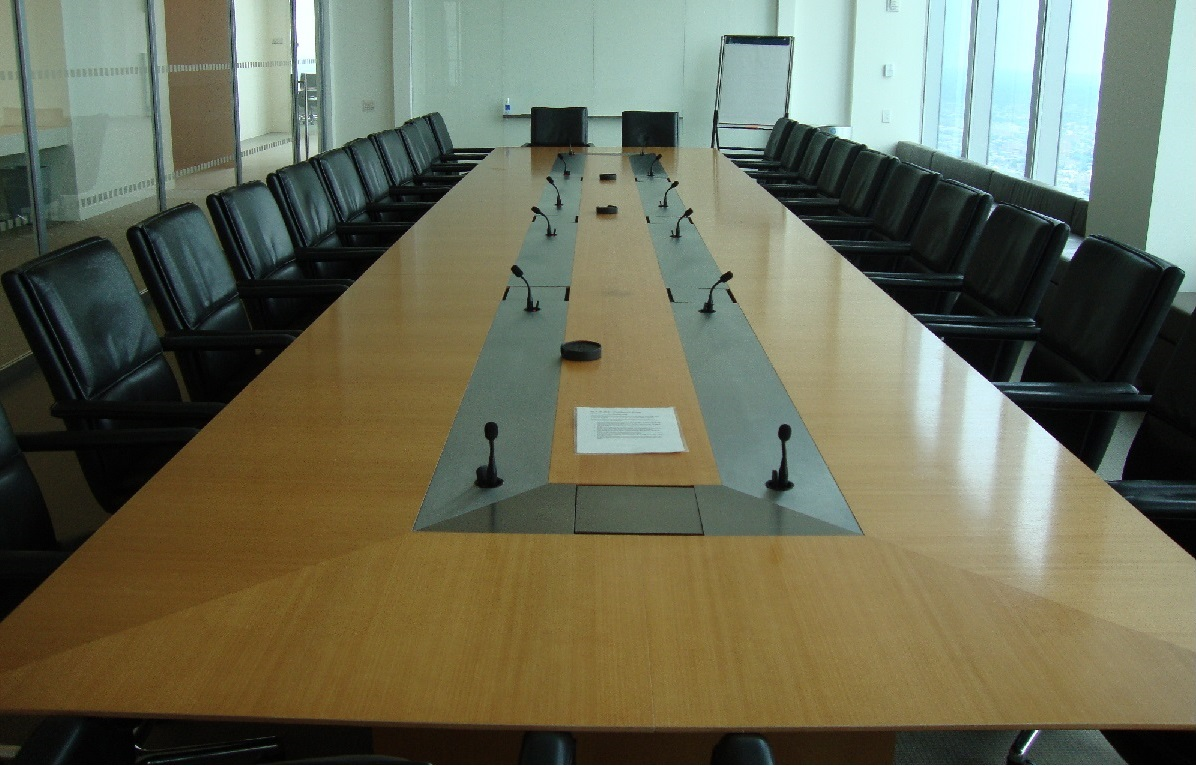 conference table refinishing and conference table repair